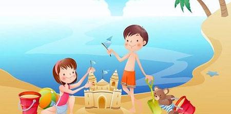 暑假里的一天